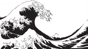 Dans la gamme d'une vague
